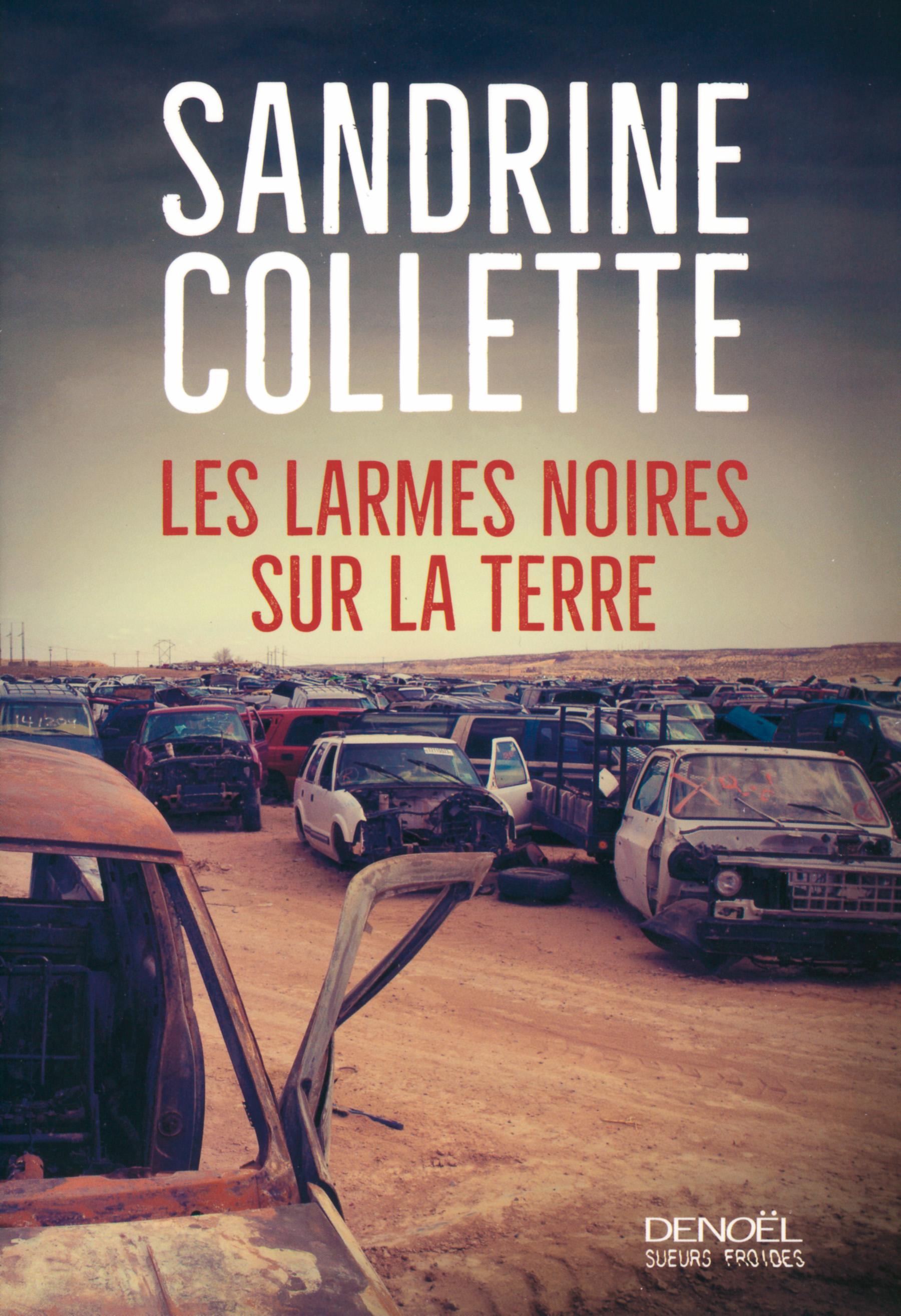 """Résultat de recherche d'images pour """"Les larmes noires sur la terre     Sandrine Collette   Denoël"""""""